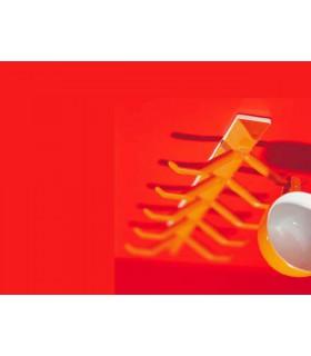 Accroche tasses MILLEPIEDI orange