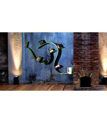 Etagére Wallboarding à mémoires de formes par Motusmentis