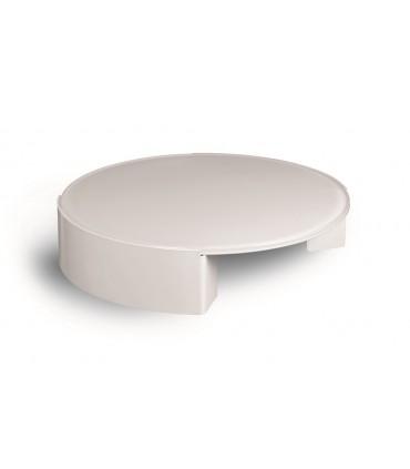 Table basse ronde Moon par Motusmentis