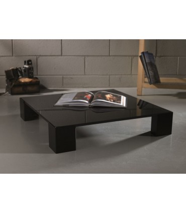 Table basse carrée Kuadra par Motusmentis