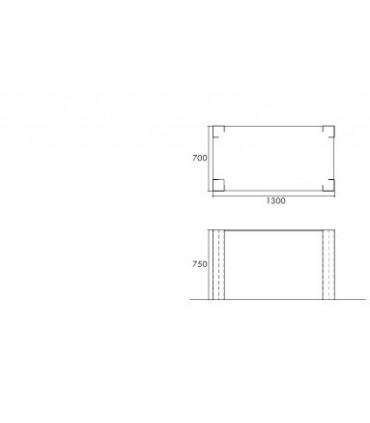 Spub la table rectangulaire par Motusmentis
