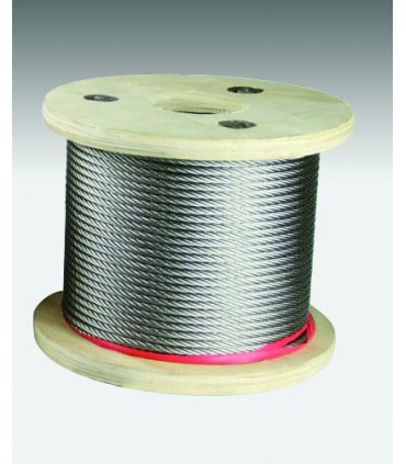 Câble inox 316 extra souple (7x19) diamètre 10 mm