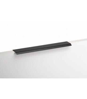 Poignée tirette série Curve noir mat