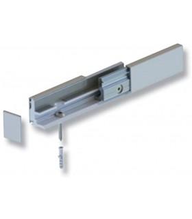 Profil WAX Système pour la fixation d'un verre fixe