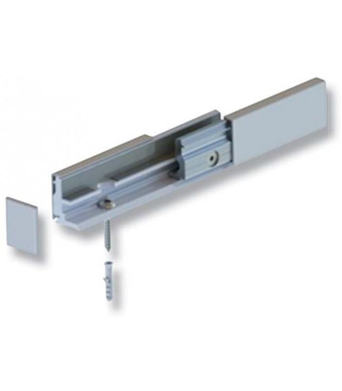 Profil WAX System pour fixation de verre fixe