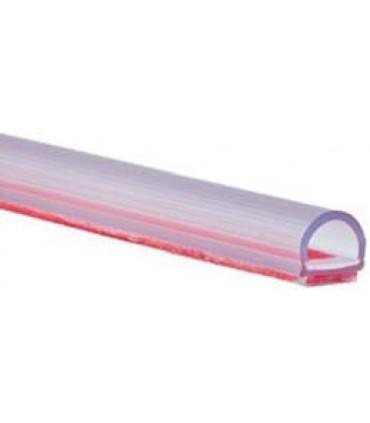 Joint d'étanchéité à coller sur le chant de la porte en verre