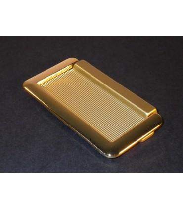 Poignée tirette avec anse doré brillant 70 x 40 mm