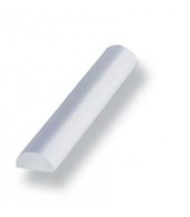 Profil de seuil en polycarbonate 1/2 rond Lg.1250 mm
