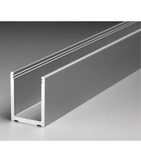 Profil aluminium en U de 40.1 x 30.5 x 40.1 mm série Super Profix 2430