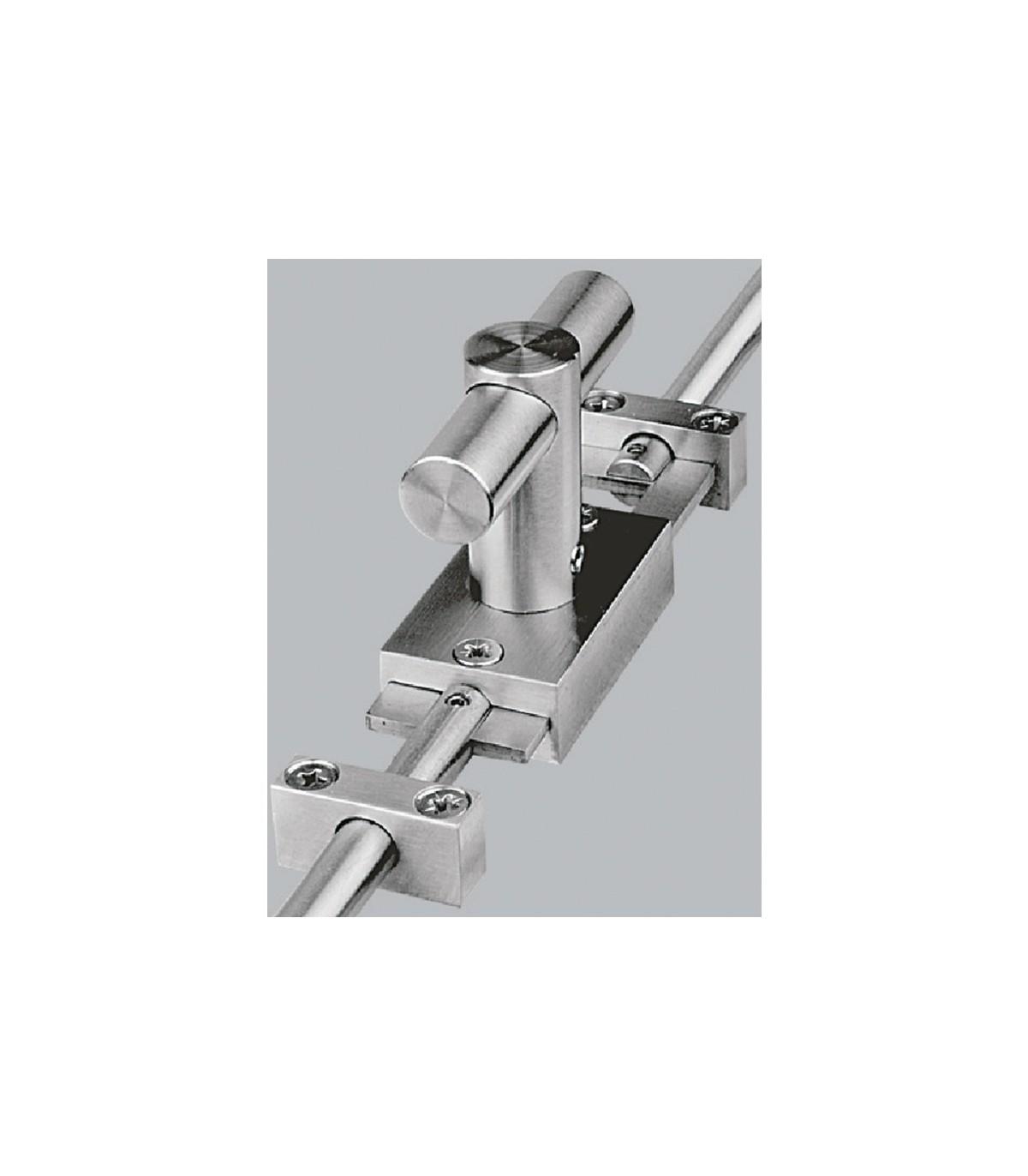 Tringle De Porte Entree crémone de porte ou fenêtre avec tringle ronde - crémone de