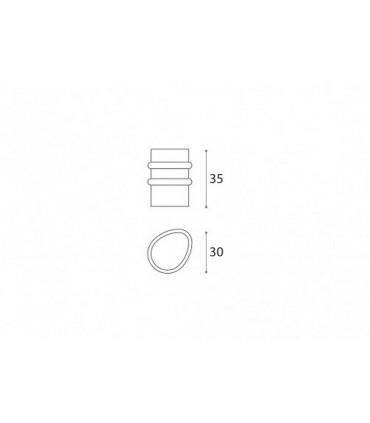 Butée de porte série Ergo forme