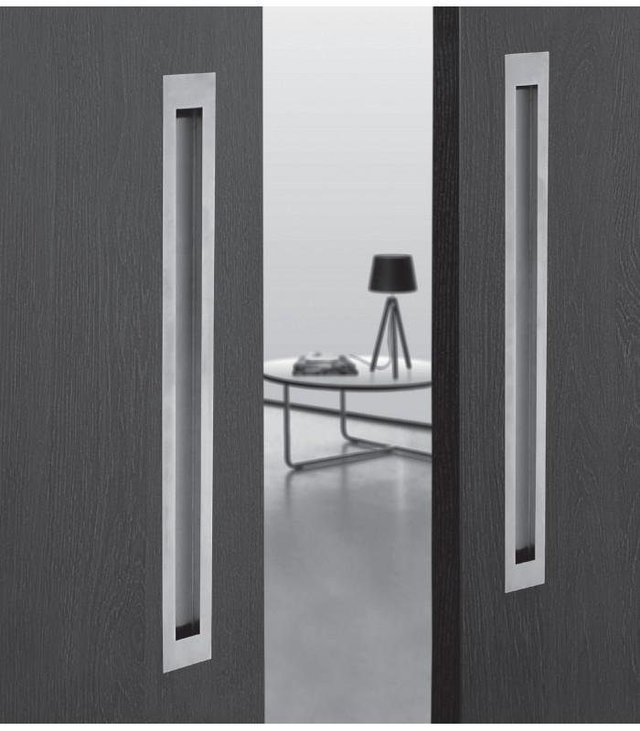 poign e cuvette xxl en inox forme rectangulaire. Black Bedroom Furniture Sets. Home Design Ideas