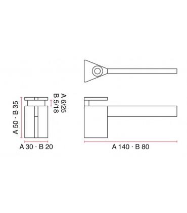 Console support étagère RM35