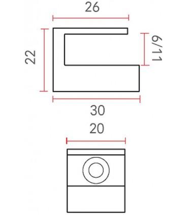 Console support étagère RM06