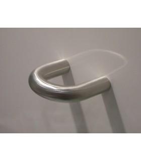 Poignée de meuble anneau forme demi ronde