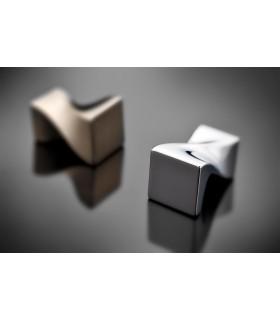 Poignée bouton de meuble torsade série 145