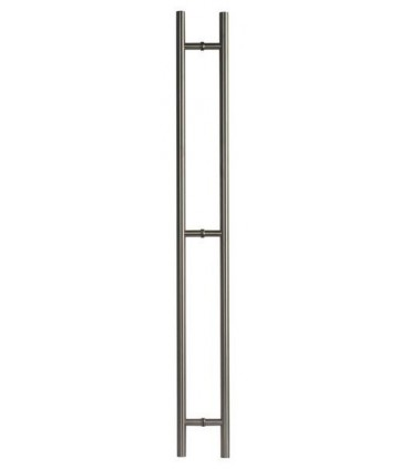 Paire de Poignée baton maréchal inox Ø 25 et 32 mm
