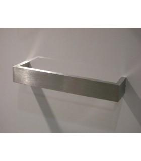Poignée de meuble rectangle largeur 20 mm