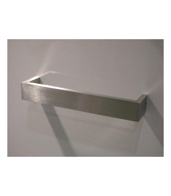 Poign e de meuble en inox forme rectangle largeur 20 mm - Poignee de meuble originale ...