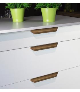 Poignée de meuble bois série Barcco 0340 par Viefe