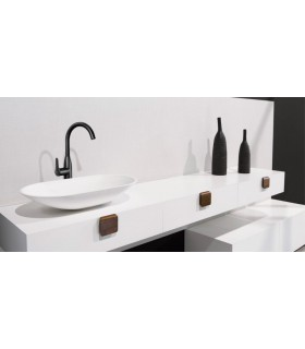 Poignée bouton de meuble bois série Tacco 0326