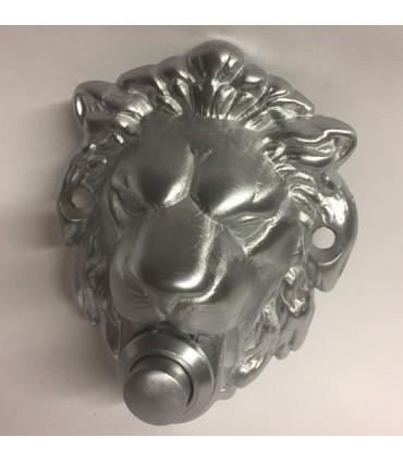 Bouton de sonnette déco tête de lion
