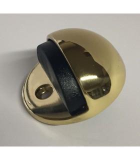 Butée de porte forme demi-sphère en laiton