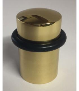 Butée de porte forme tubulaire en laiton