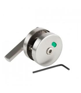 Bouton de condamnation pour panneau d'épaisseur 10 à 18 mm