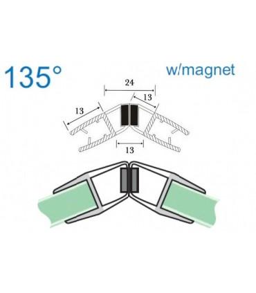 Joint d'étanchéité magnétique 135° série S.5712