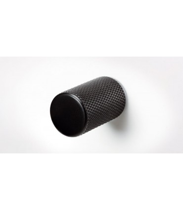Poignée bouton série Graf noir