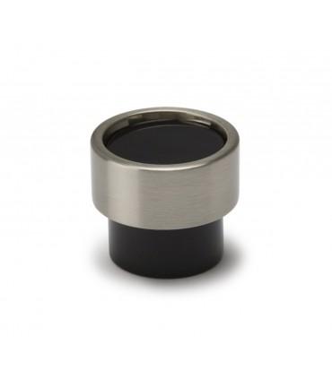Poignée bouton série Piston noir