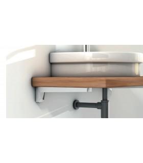 Support plan vasque Mensola design Bolis Italia