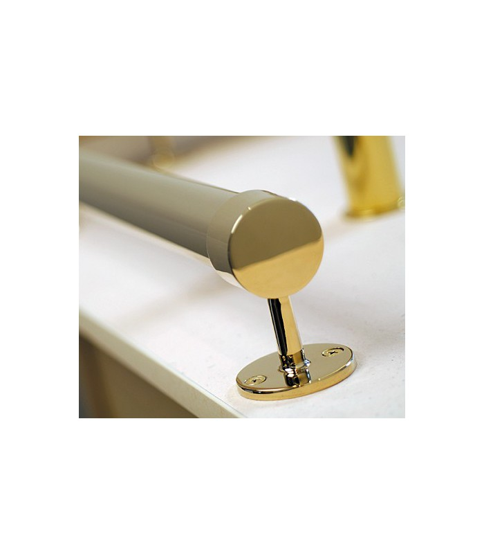 Support borgne droite pour Ø 25 mm