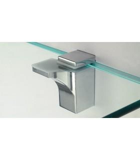 Support pour étagère en verre ou en bois série 533 par Mafos