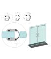 Profil Glass frame montage sans silicone