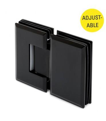 Charnière ajustable ouverture à 180° verre / verre pour porte de douche