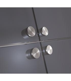 Fixation ponctuelle ronde 35 mm pour volume en verre