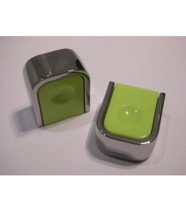 Poignée bouton série Dimple