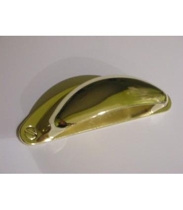 Poignée coquille série 2 doré brillant