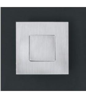 Poignée cuvette Open Closed carrée 60 x 60 mm