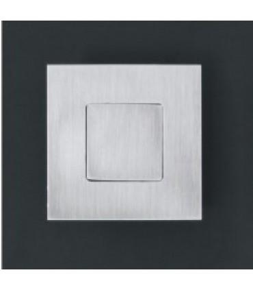 Poignée cuvette série Open Closed fermée 60 x 60 mm