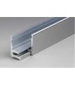 Profil aluminium à clip de 28 mm série Profix 2