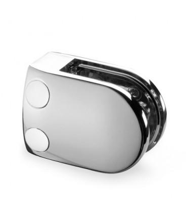 Pince à verre talon plat - modèle 28 - Zamak chromé brillant