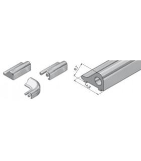 Profil de seuil en aluminium Lg.1860 mm