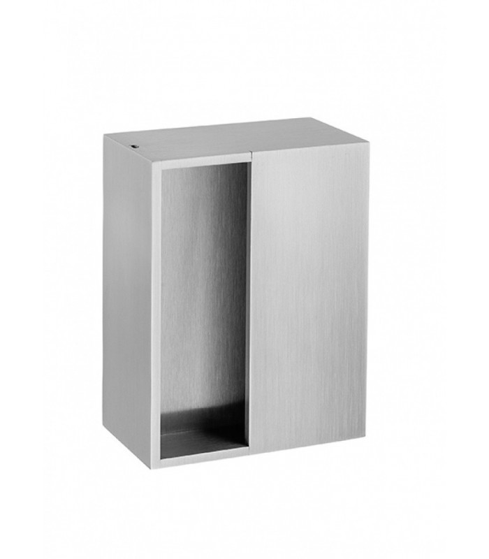 Poignée encastrée série M2 pour porte coulissante en bois