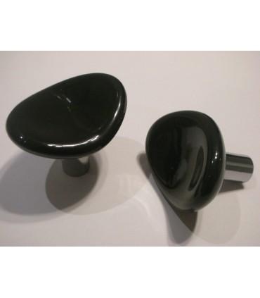 Poignée bouton série Champ noir