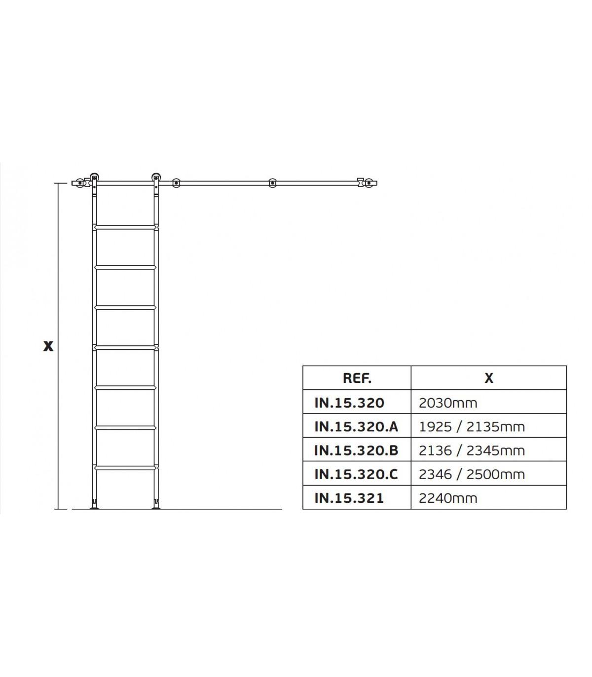 Echelle Bibliotheque Sur Rail echelle coulissante en inox pour bibliothèque - echelle de