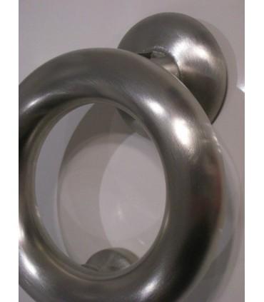 Heurtoir anneau marteau de porte en Inox
