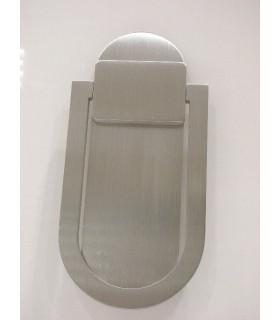 Heurtoir anneau plat marteau de porte en Inox